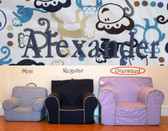 Pre-Monogrammed Large (Oversized) Ugly-Where Chair - Alexander - J331