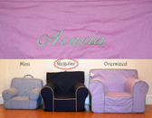 Premonogrammed Regular Size Ugly-Where Chair - Acacia - D17 - Pink
