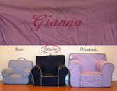 Premonogrammed Regular Size Ugly-Where Chair - Gianna - D114 - Pink