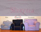 Premonogrammed Regular Size Ugly-Where Chair - Shayna - D209 - Light Pink