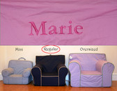 Premonogrammed Regular Size Ugly-Where Chair - Marie - D232 - Pink