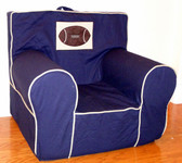 Applique'd Ugly-Where Chair - Regular Size - Football