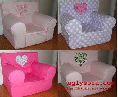 U0027I ♥ Myu0027 Ugly Where Chair Appliqueu0027d   Regular Size
