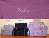 Pre-Monogrammed Large (Oversized) Ugly-Where Chair - Sara - D495 - Pink