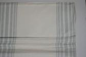 "Riviera Stripe Cordless Roman Shade - Porcelain Blue - 26"" x 64"""