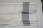"Grosgrain Ribbon Cordless Roman Shade - Gray - 32"" x 64"""