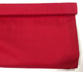 "Twill Cordless Roman Shade - Red - 26"" x 64"""