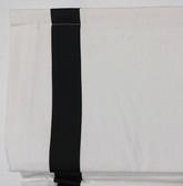 """Suite Ribbon Cordless Roman Shade - Black - 36"""" x 64"""""""