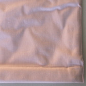 "Light Pink Twill Cordless Roman Shades with Blackout Lining - 63"" length - Various Widths"