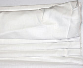 "Linen Cordless Roman Shade - White - 32"" x 64"""
