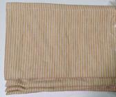 "Mini Stripe Cordless Roman Shade - Gold - 36"" x 64"""