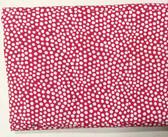 "Teen Mini Dot Cordless Roman Shade - Pink Magenta - 32"" x 64"""