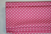 "Mini Dot Cordless Roman Shade - Dark Pink - 32"" x 64"""