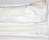 "Linen Cordless Roman Shade - White - 44"" x 64"""