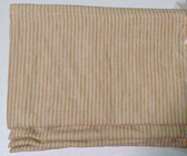 "Mini Stripe Cordless Roman Shade - Gold - 44"" x 64"""