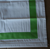 "Grass Green Suite Ribbon Cordless Roman Shades - 63"" Length - Various Widths"
