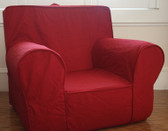 Ugly-Where Chair Slipcover - Regular Size - Free Personalization - Red