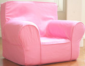 Ugly-Where Chair Slipcover - Regular Size - Free Personalization - Pink
