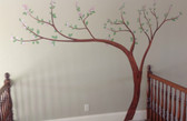 "Kids Cherry Blossom Wall Decal - 128"" x 88"""