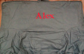 Premonogrammed Regular Size Ugly-Where Chair - Alex - L8 - Charcoal Gray
