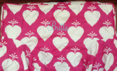 Premonogrammed Regular Size Ugly-Where Chair - Britta -  L127 - Hot Pink Large Hearts