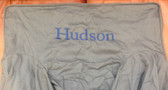 Premonogrammed Regular Size Ugly-Where Chair - Hudson -  L132 - Charcoal Gray