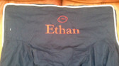 Premonogrammed Regular Size Ugly-Where Chair - Ethan -  L140 - Navy, White  Piping