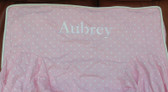 Premonogrammed Regular Size Ugly-Where Chair - Aubrey  - L262 - Light Pink Pin Dot