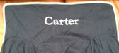 Premonogrammed Regular Size Ugly-Where Chair - Carter -  L300 - Navy, White  Piping