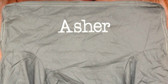 Premonogrammed Regular Size Ugly-Where Chair - Asher -  L307 -  Gray