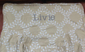 Premonogrammed Regular Size Ugly-Where Chair - Livie -  L318 - Beige Lattice