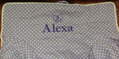 Premonogrammed Regular Size Ugly-Where Chair - Alexa - L452 - Lavender Mini Dot