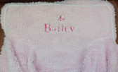 Premonogrammed Regular Size Ugly-Where Chair - Bailey -  L542 - Light Pink Sherpa