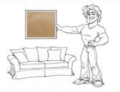 "Charleston 96"" Sofa Slipcover Set - Oat Everyday Suede - locsg"