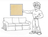 Basic Sofa Slipcover Set - Maize Twill - locstg
