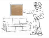 Basic Sofa Slipcover Set - Oat Everyday Suede - locstg