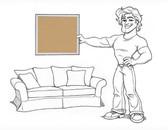 Charleston Sleeper Sofa Slipcover Set - Sand Brushed Twill - locstg