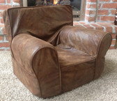 Ugly-Where Chair Slipcover - Regular Size - Free Personalization - Trailblazer Faux Leather