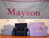 Pre-Monogrammed Regular Size Ugly-Where Chair - Mayson - 9557