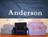 Pre-Monogrammed Large (Oversized) Ugly-Where Chair - Anderson - 9574