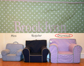 Pre-Monogrammed Large (Oversized) Ugly-Where Chair - Brooklynn - 9584