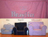 Pre-Monogrammed Large (Oversized) Ugly-Where Chair - Braylin - 9598