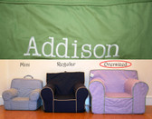 Pre-Monogrammed Large (Oversized) Ugly-Where Chair - Addison - 9599