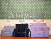 Pre-Monogrammed Large (Oversized) Ugly-Where Chair - Abigail - 9611
