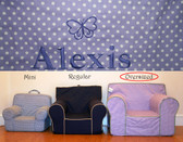 Pre-Monogrammed Large (Oversized) Ugly-Where Chair - Alexis - 9614