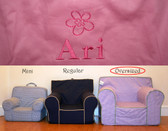 Pre-Monogrammed Large (Oversized) Ugly-Where Chair - Ari - 9645