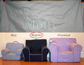 Pre-Monogrammed Regular Size Ugly-Where Chair - Molly - B146