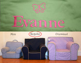 Pre-Monogrammed Regular Size Ugly-Where Chair - Evanne - B590