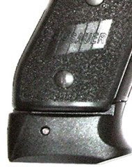 This is the XGrip for the Sig Sauer 220, slips over a p220 magazine to make it fit into a p245 model comfortably.