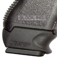 This is the XGrip for the Glock, slips over a compact magazine (19, 23) to make it fit into a sub-compact model (26, 27) comfortably.